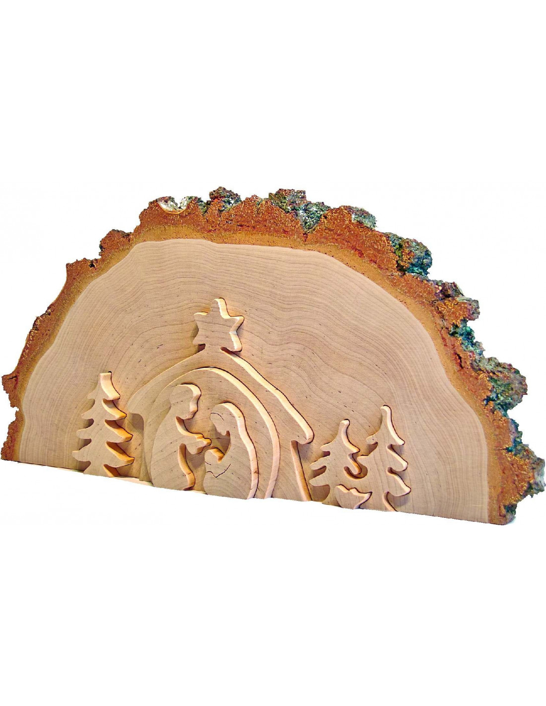 Houten kerststal van waldfabrik duurzaam houten speelgoed - Decoratie en bois ...