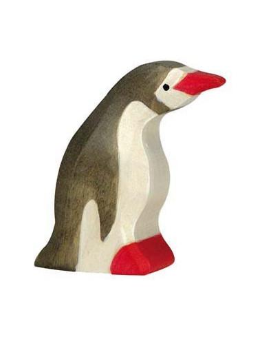 Kleine pinguin Holztiger