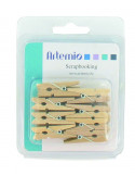 Kleine houten wasknijpers