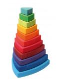Stapeltoren driehoek