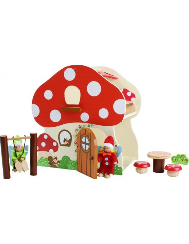 Poppenhuis paddenstoel