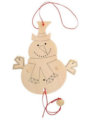 Trekpop sneeuwpop