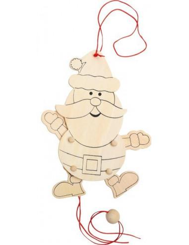 Trekpop kerstman