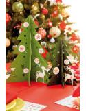Kerstboom met versiering