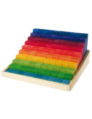 Bouwblokken groot trap