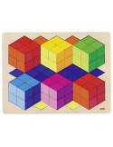 Legpuzzel geometrisch