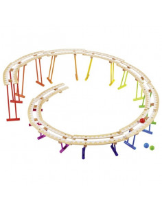 Knikkerbaan rollercoaster