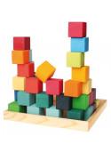 Bouwblokken groot vierkant