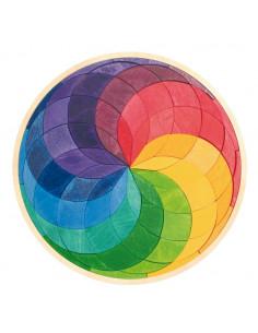 Legmozaiek cirkels