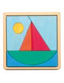 Legpuzzel zeilboot
