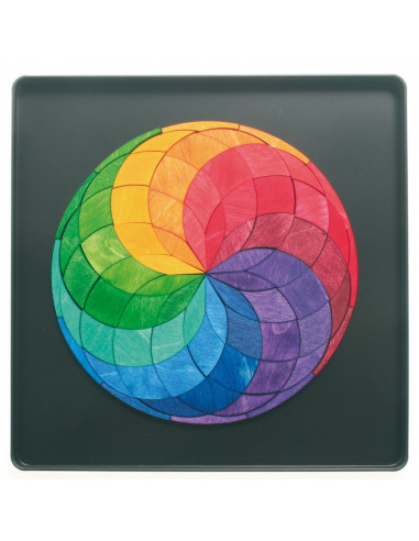 Magneetmozaiek cirkels