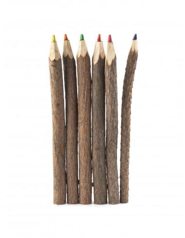 Potloden met boombast