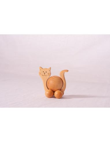Rollend katje