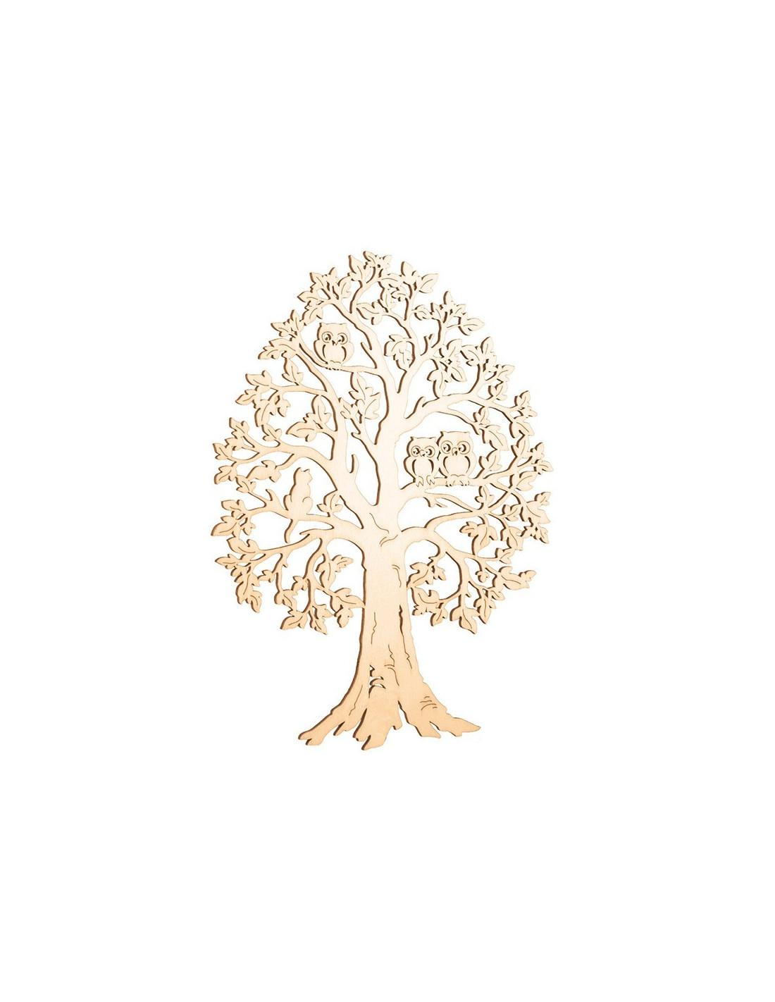 boom met uilen duurzaam houten speelgoed