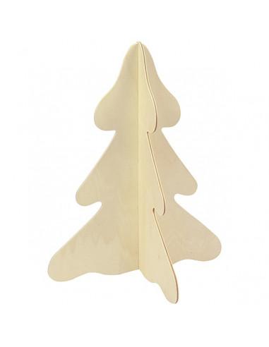 Knutsel kerstboom