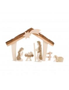 Kerststal hout