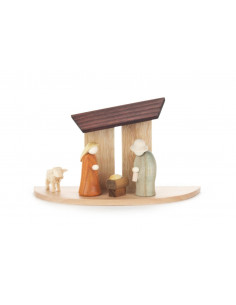 Kerststal miniatuur
