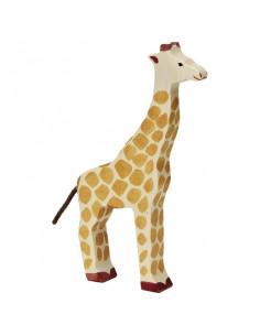 Giraffe staand Holztiger