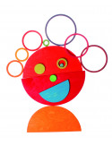 Halve cirkels gekleurd