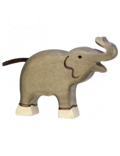 Kleine olifant Holztiger
