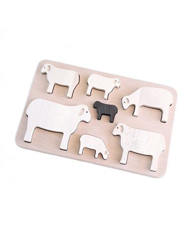 Puzzel schapen