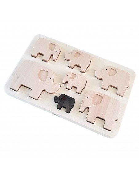 Puzzel olifanten