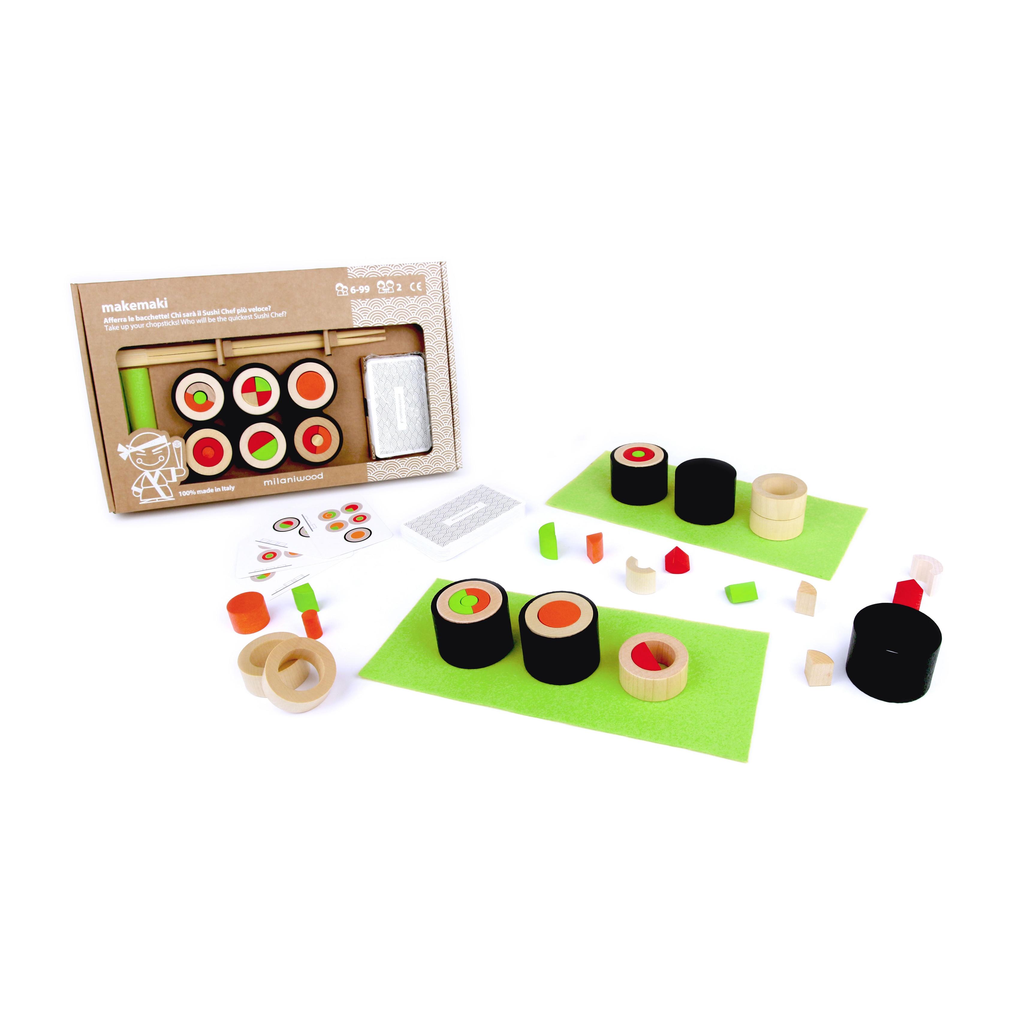 top kwaliteit verkoop usa online 50% prijs Makemaki sushi-spel - Houtspel - Duurzaam houten speelgoed