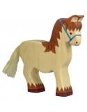 Paard met halster