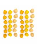 Gele bijenkorfjes