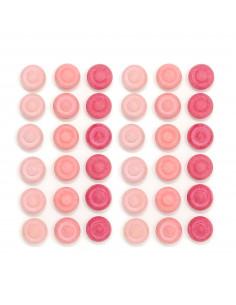 Mandala - Roze bloemen