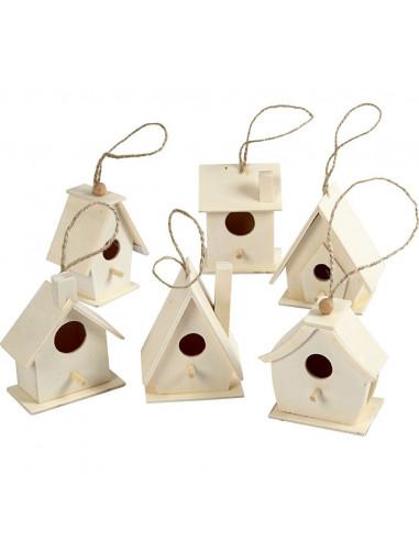 Mini vogelhuisjes