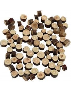 Mini houtplakjes