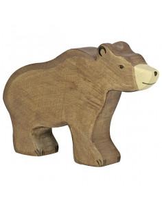 Bruine mannetjes beer Holztiger