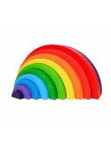 Regenboog asymmetrisch