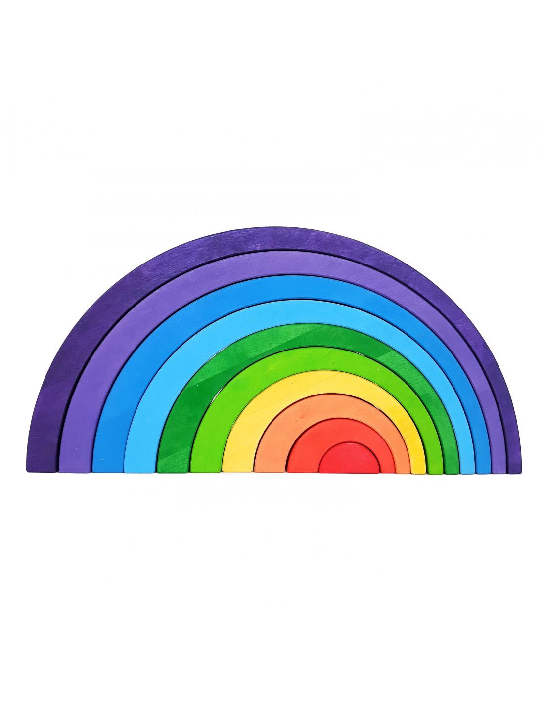 regenboog asymmetrisch - Leuke spelvormen met de houten regenboog van Bajo en Grimm's + WIN!
