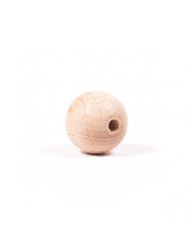 Houten kraal 2 cm