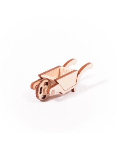 Miniatuur kruiwagen