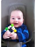 Elastische babygrijper kubus
