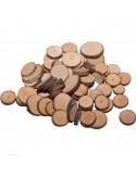 Knutsel houtplakjes