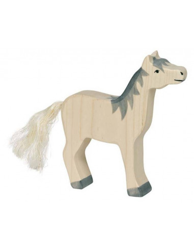 Wit paard Holztiger