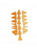 Oranje kegeltjes
