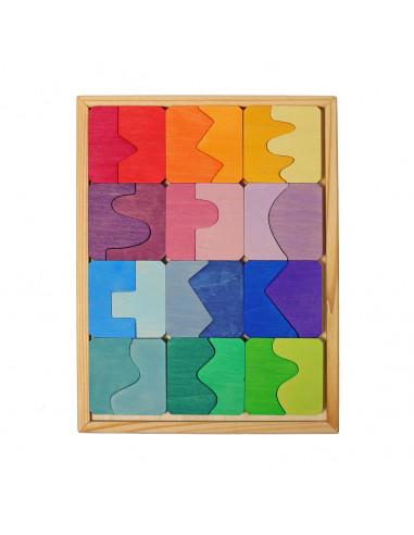 Legpuzzel vormen passen