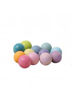 Kleine pastel ballen