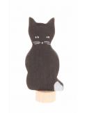 Zwarte kat voor verjaardagsring