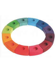 Regenboog verjaardagsring