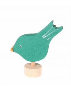 Vogel steker voor verjaardagsring