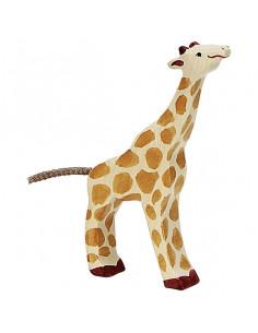 Kleine giraffe Holztiger