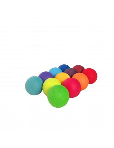 Kleine regenboog ballen