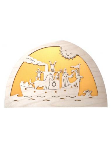 Sinterklaas stoomboot silhouet