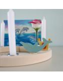 Dolfijn steker voor verjaardagsring